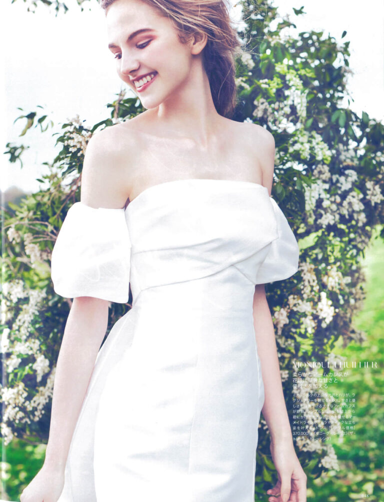 MARTHA STEWART weddings JAPAN No.3(Monique Lhuillier)