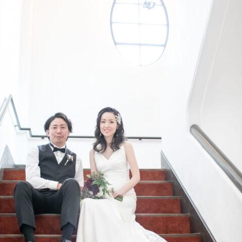 フォーチュンガーデン京都のアットホームな結婚式でレラローズおしゃれドレス