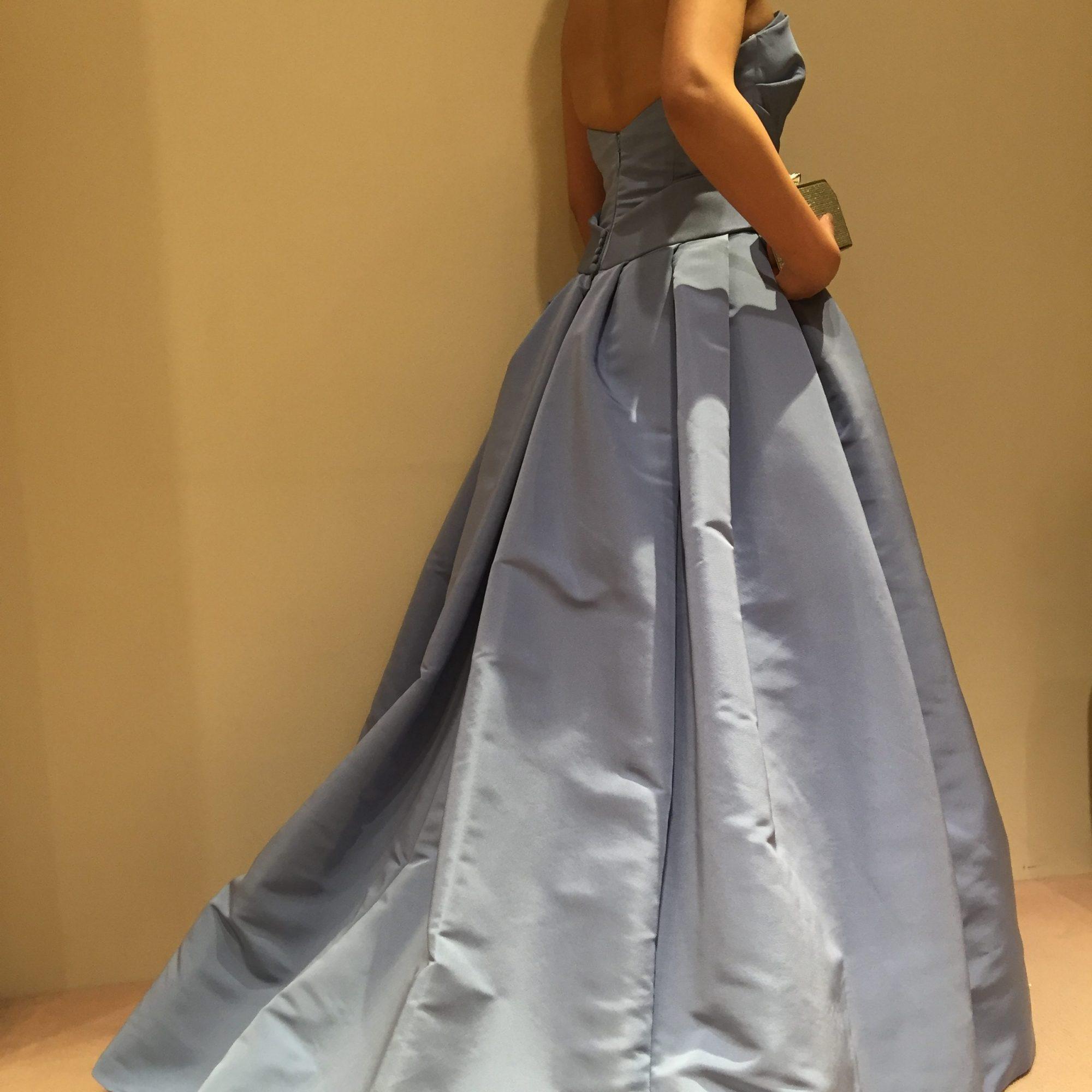 Aライン カラードレス
