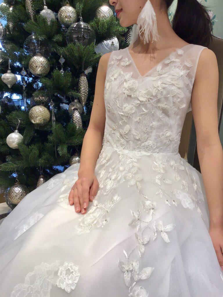 新作ドレスのご紹介~Monique Lhuillier(モニーク・ルイリエ)~