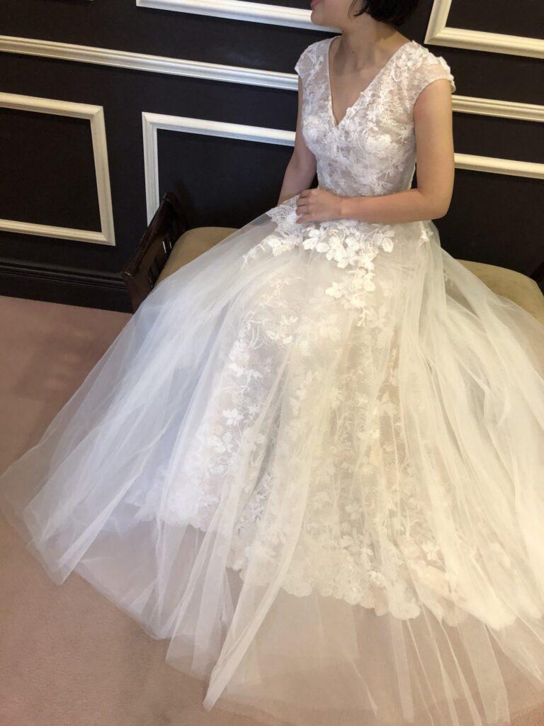 新作ウェディングドレスのご紹介~Bliss Monique Lhuillier(ブリス モニークルイリエ)~