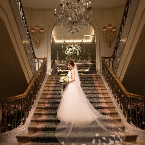 横浜ロイヤルパークにて結婚式を挙げられた花嫁様 ベール