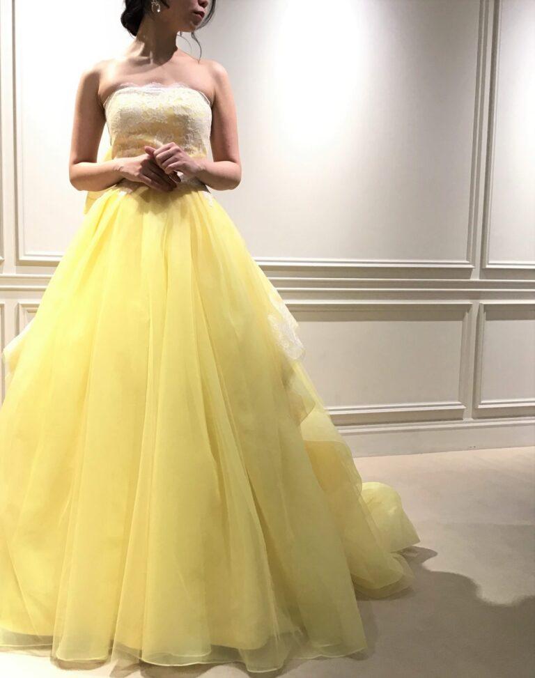 カラードレスのご紹介