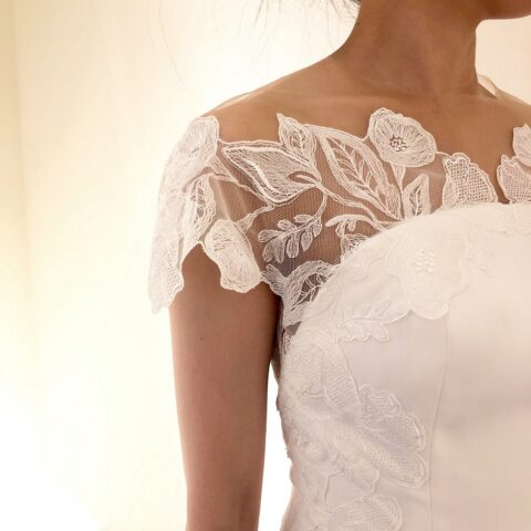 Lela Roseのウェディングドレス