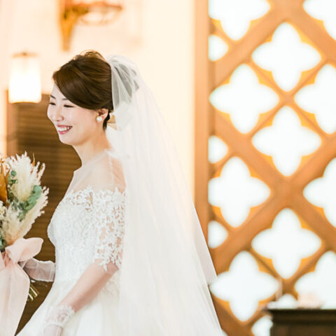 京都の結婚式会場フォーチュンガーデン京都におすすめのウエディングドレス