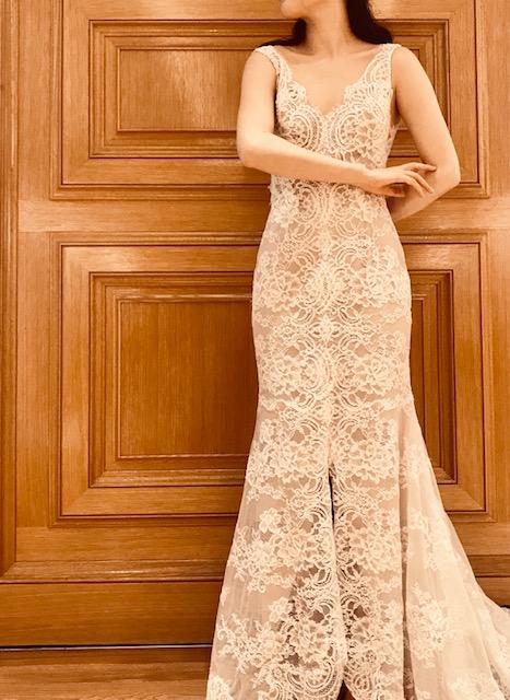 トリートドレッシング京都店で取り扱いのモニークルイリエの新作ウエディングドレス