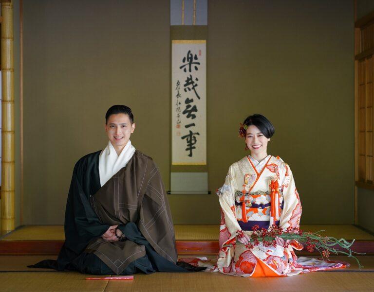 京都 前撮りレポート ~本振袖・ウェディングドレス~