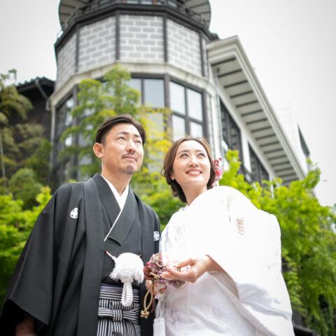 THE KAWABUN NAGOYA(ザ カワブン ナゴヤ)にて白無垢姿の花嫁の前撮り