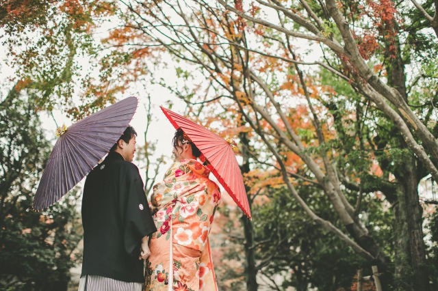 Photo Shooting Report at THE GARDEN ORIENTAL OSAKA~色打掛・ウェディングドレス~