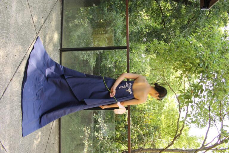 カラードレスのご紹介~BLUE~at  THE NANZAN HOUSE(ザ   ナンザン  ハウス)