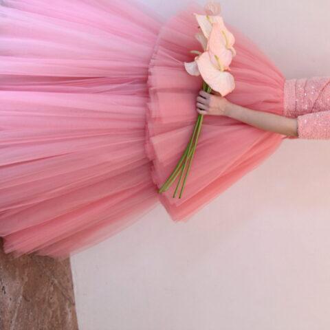 ザナンザンハウスにオススメのピンクのカラードレスのご紹介