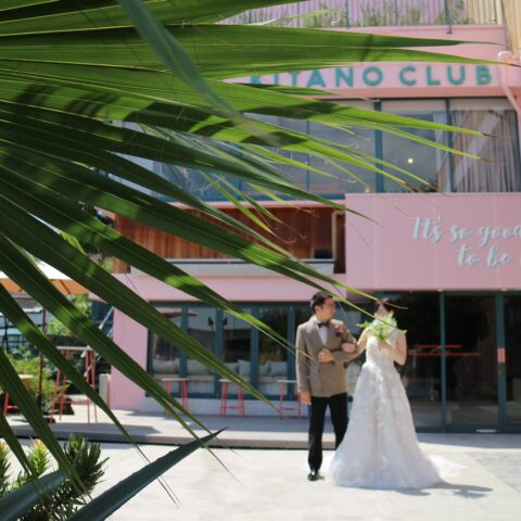 神戸北野に佇むピンクの建物が印象的なホテル北野クラブ