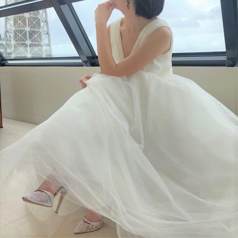 ウェディングドレスのご紹介~CAROLINA HERRERA(キャロリーナ・ヘレラ)Chloe~