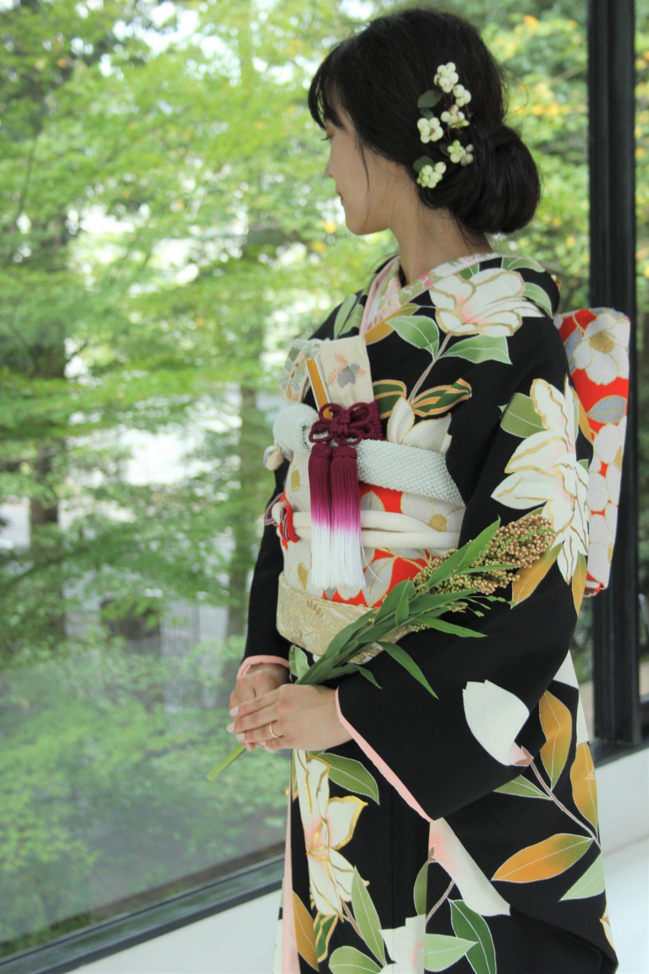 ザナンザンハウスに合う和装のコーディネートのご紹介