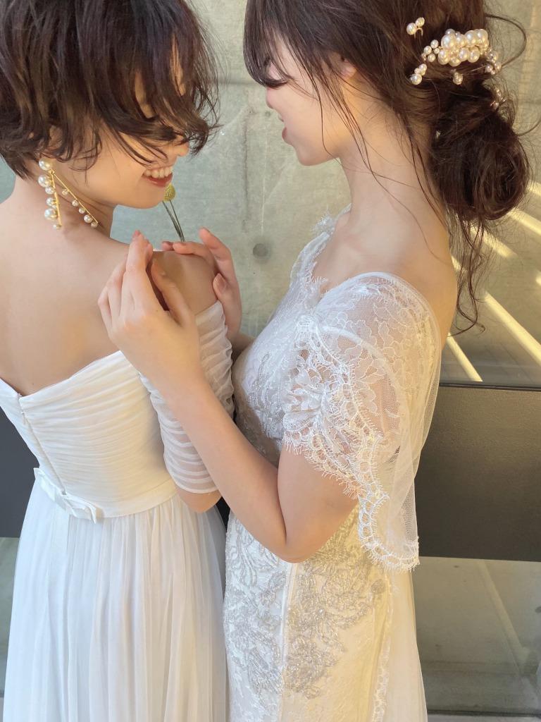 春夏の結婚式の花嫁様におすすめのこなれ感のあるコーディネート