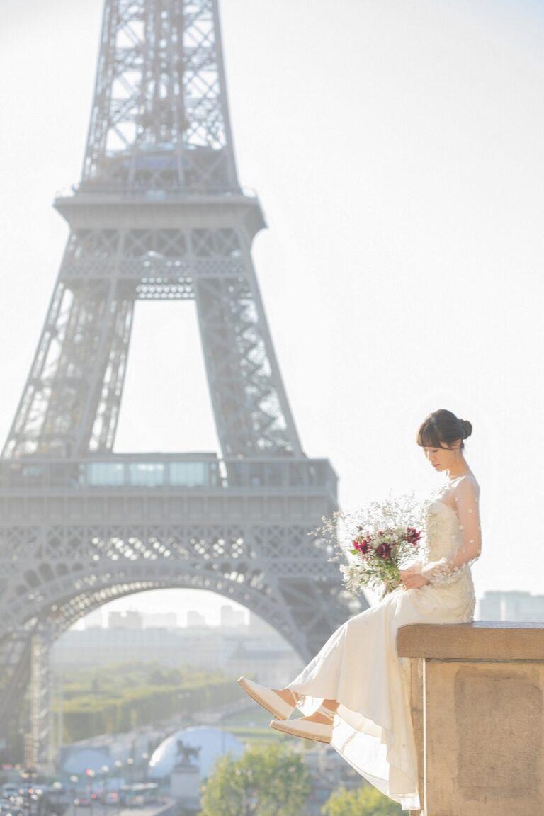 Photo Shooting Report at Paris~ウェディングドレス~Sep.2019