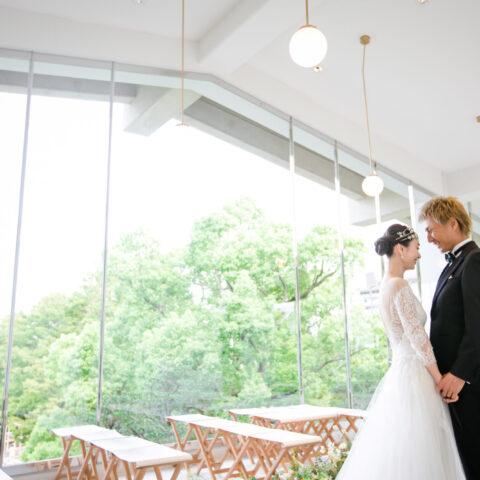 ザトリートドレッシング神戸店が提携をしている相楽園での結婚式