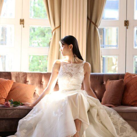 トリートドレッシングが提案する赤坂プリンスクラシックハウスに映えるエリーサーブのドレス