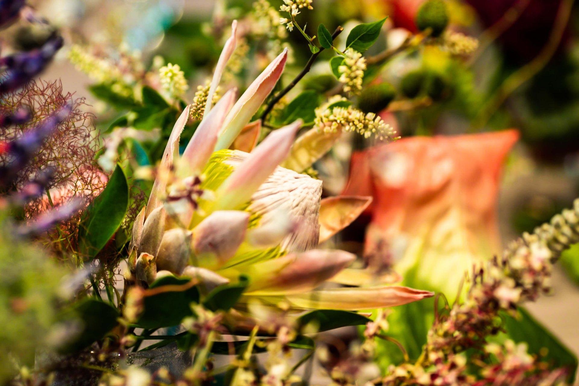 トリートドレッシングがご提案する結婚式のお花