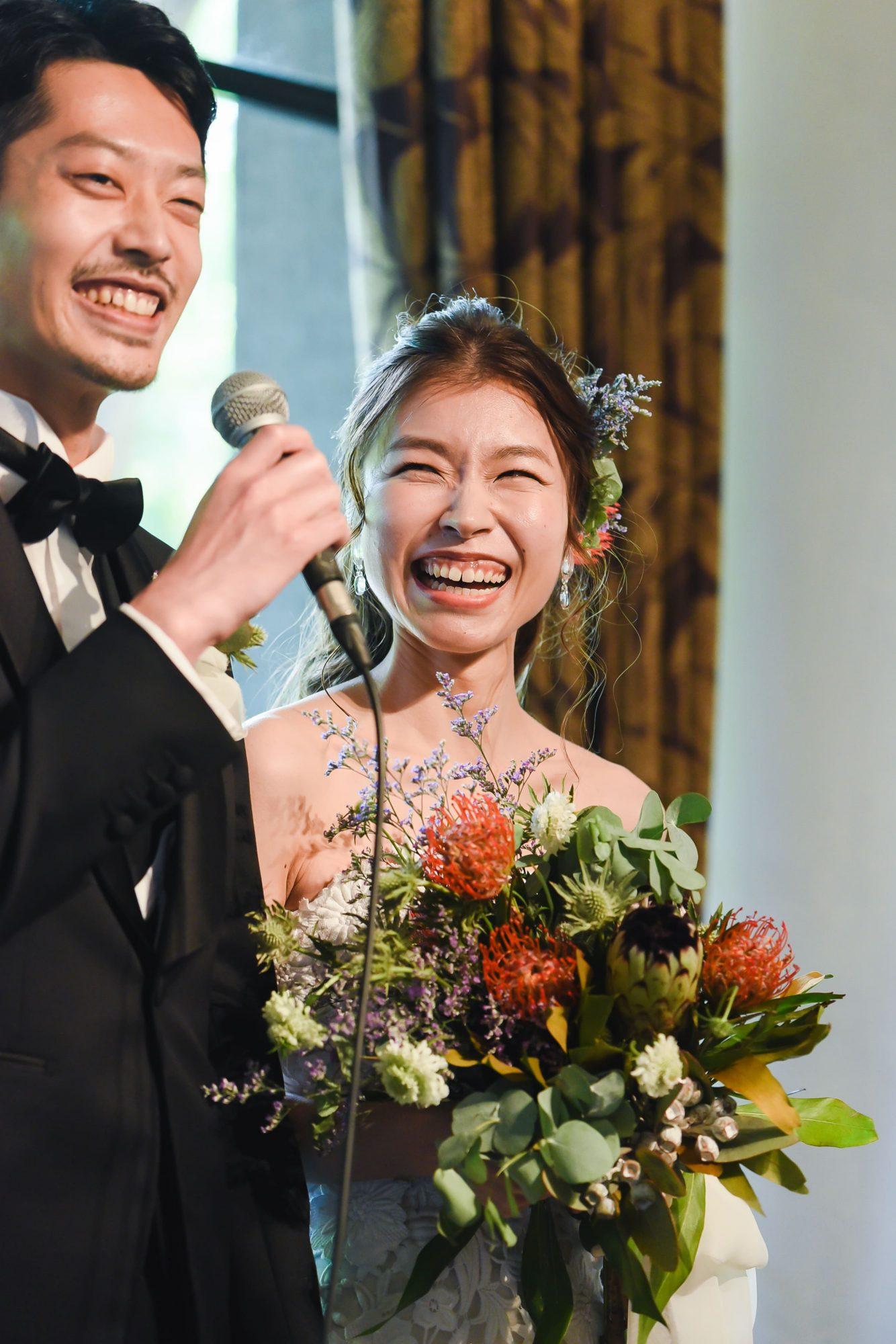 名古屋で人気の結婚式場ザナンザンハウスでお式を挙げられたお二人