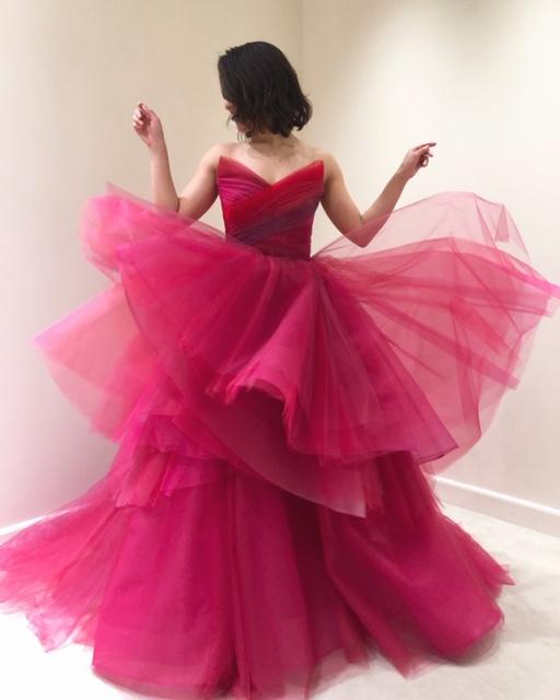 ザトリートドレッシングが取り扱うモニーク・ルイリエのカラードレス。