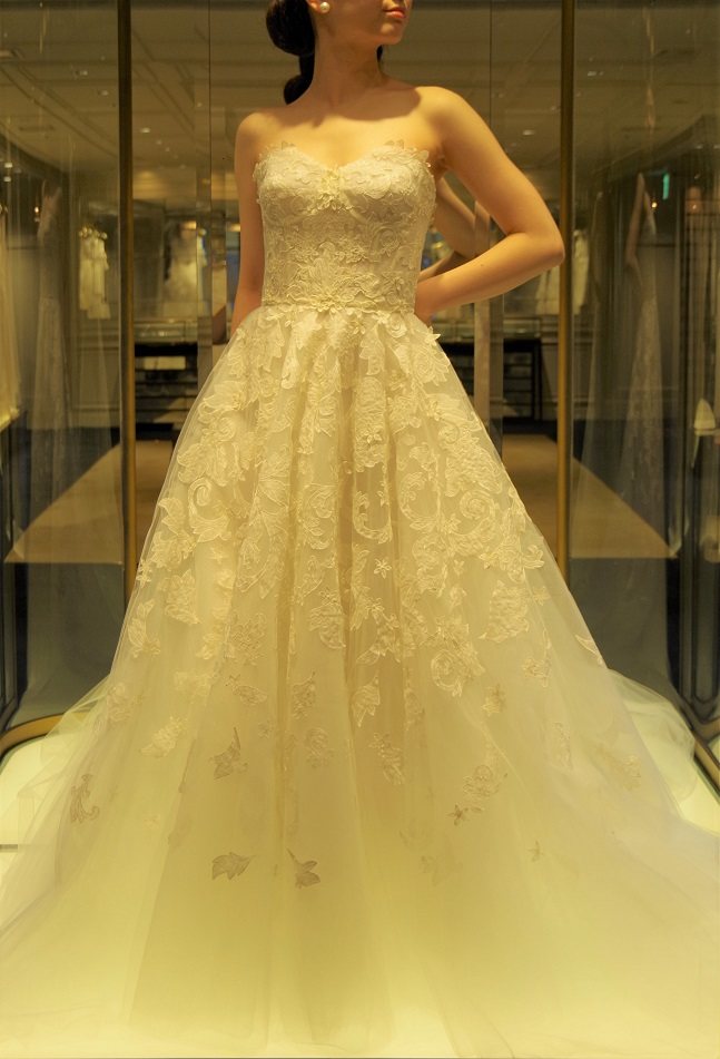 THE TREAT DRESSINGでご紹介したいクラシックなウエディングドレス