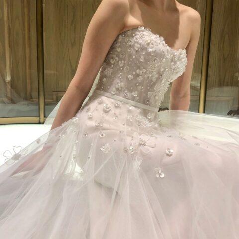 ザ・トリートドレッシング名古屋店で人気のミラ・ズウィリンガーのウェディングドレス