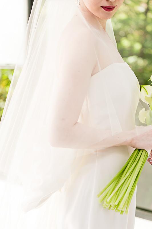 ザナンザンハウスでアントリオリーヴァのドレスをお召になられたご新婦様