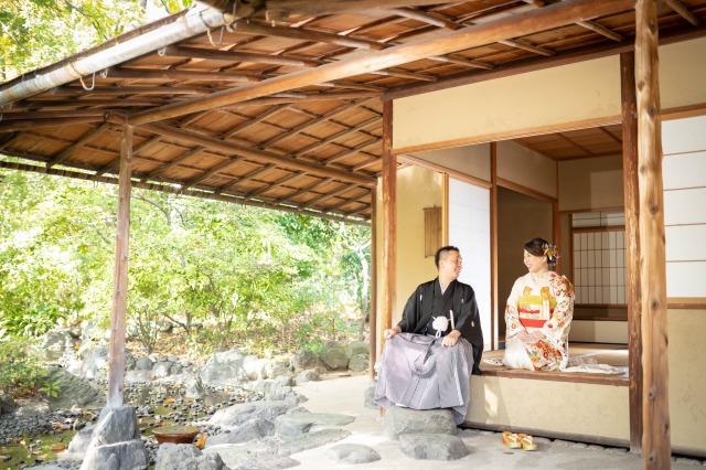 Photo Shooting Report at THE GARDEN ORIENTAL OSAKA~本振袖・ウェディングドレス~