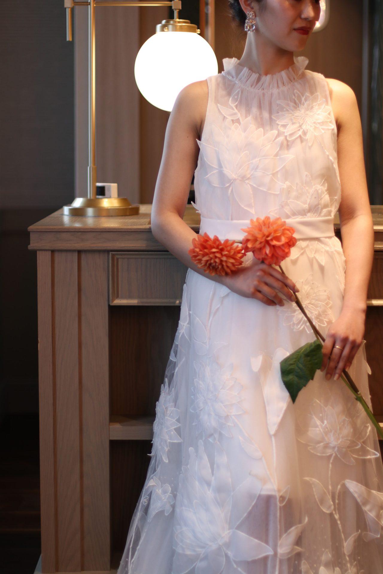 ザトリートドレッシング名古屋店で人気のヴィクターアンドロルフマリアージュのウエディングドレス
