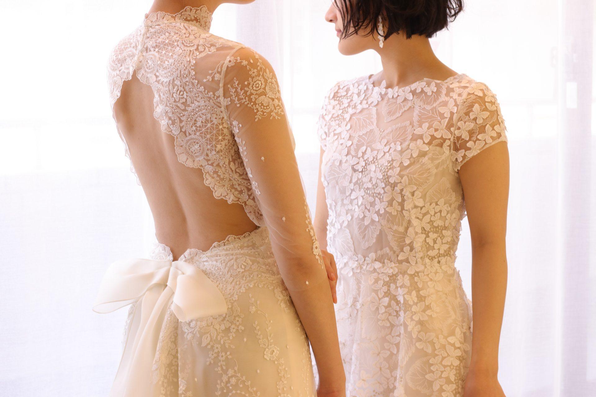 おしゃれな花嫁様憧れのドレスショップ ザ・トリート・ドレッシングより、ニューヨークより届いたばかりの新作ウェディングドレスを2着ご紹介いたします