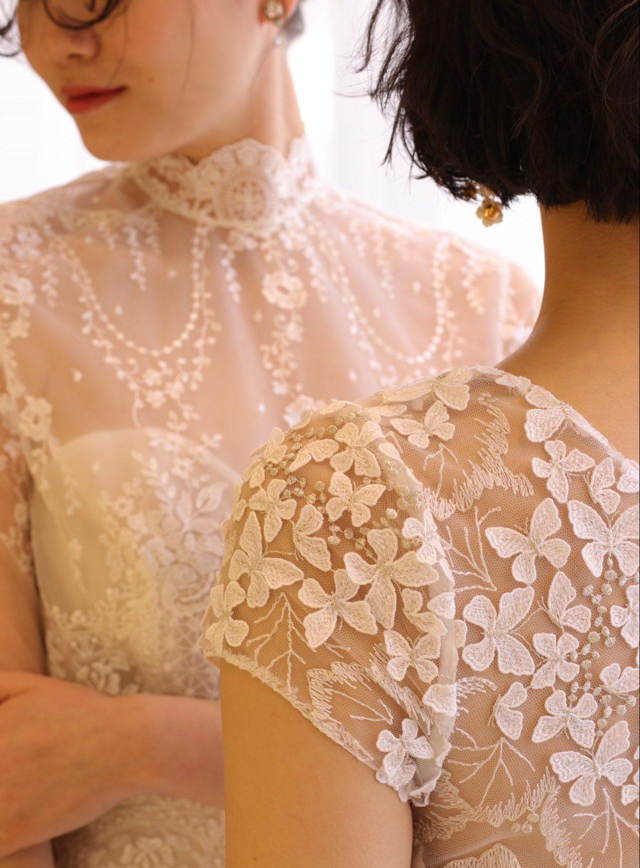 インポートドレスらしい美しいレースにこだわったザ・トリート・ドレッシングの新作ウェディングドレスで、あなただけの特別なブライズスタイルをご提案いたします
