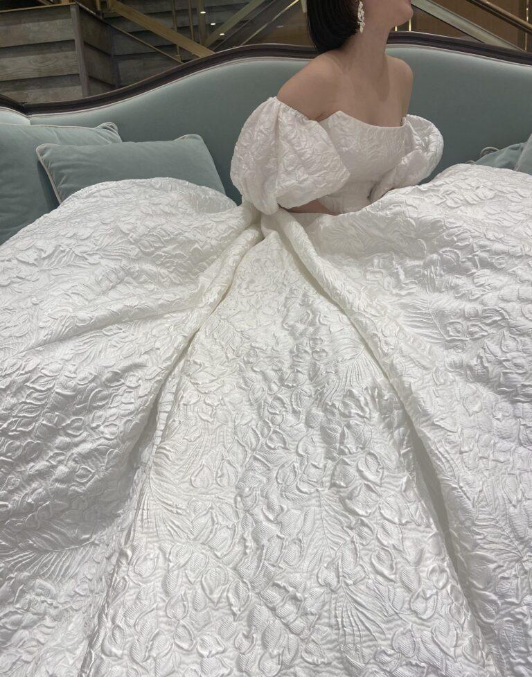 新作ウェディングドレスのご紹介~LELA ROSE(レラ・ローズ)~THE MELROSE