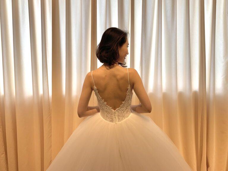 新作ウェディングドレスのご紹介 ~Monique Lhuillier(モニーク・ルイリエ)~