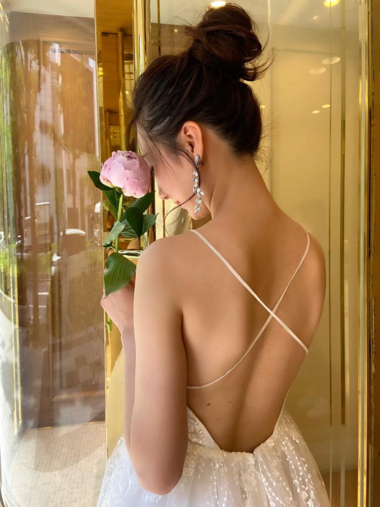 新作ウェディングドレスのご紹介~Elizabeth fillmore(エリザベス・フィルモア)EDALINE~