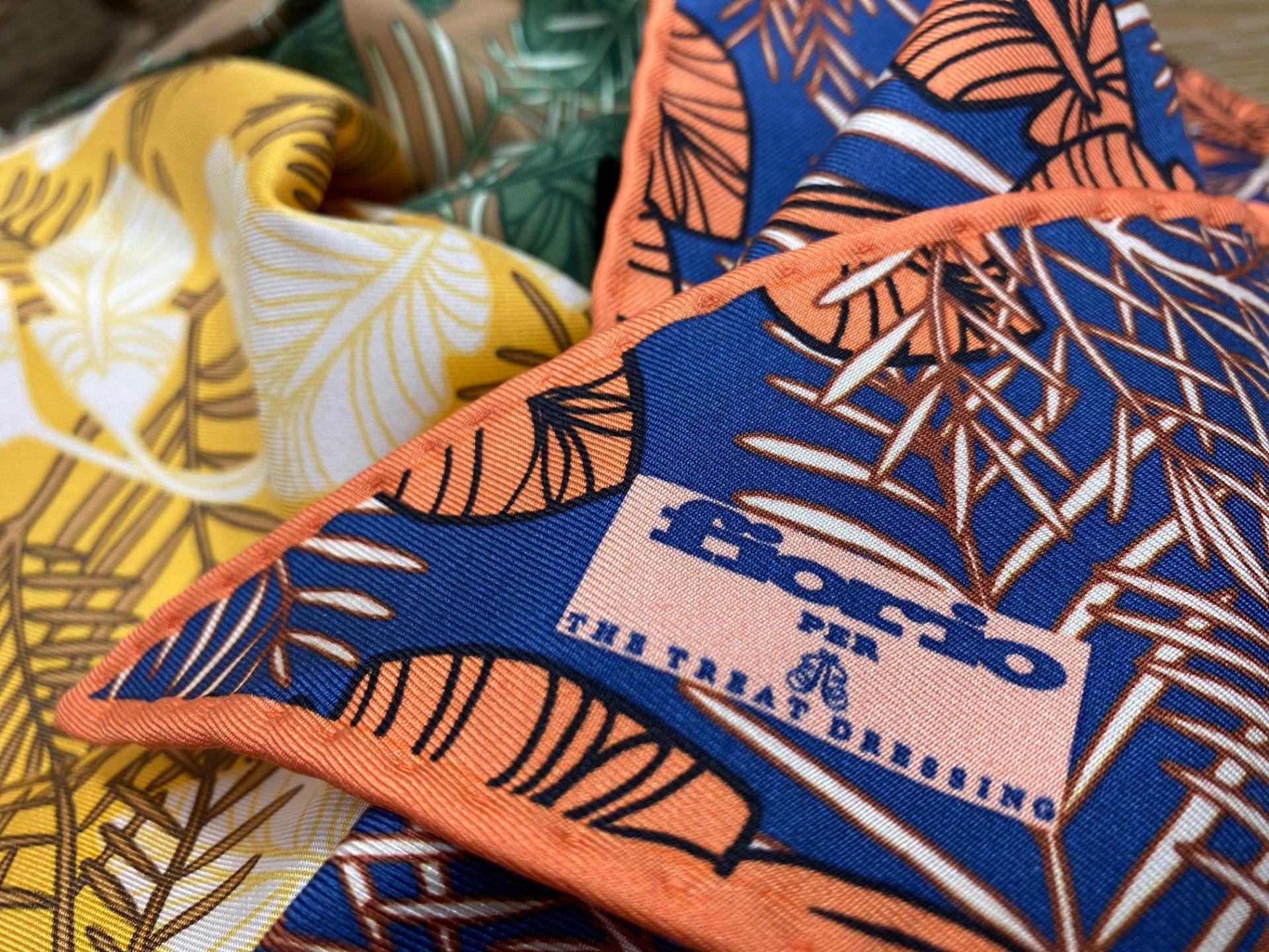 フォーチュンガーデン京都でお式を挙げられる方におすすめしたい華やかなボタニカル柄のフィオリオのストール