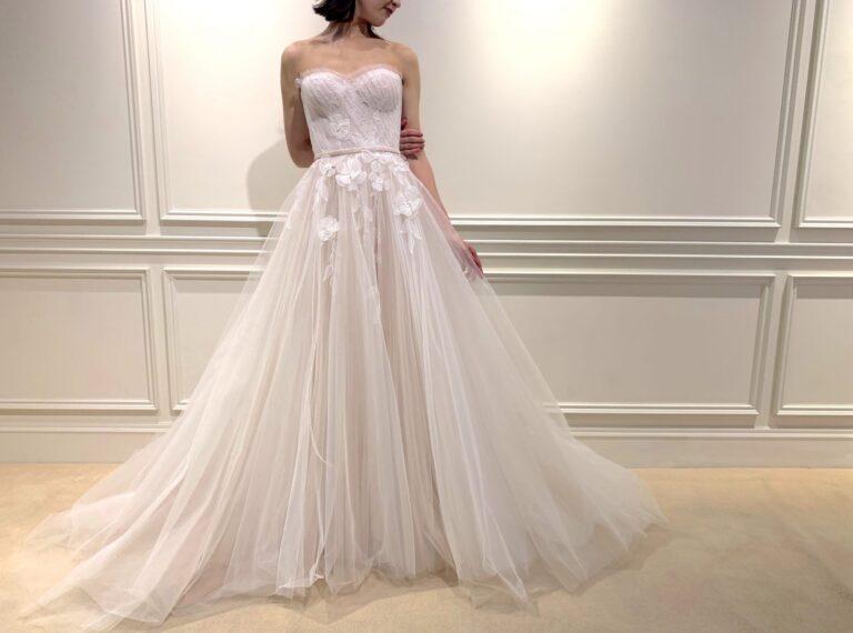6月21日のインスタライブに登場したウェディングドレスのご紹介