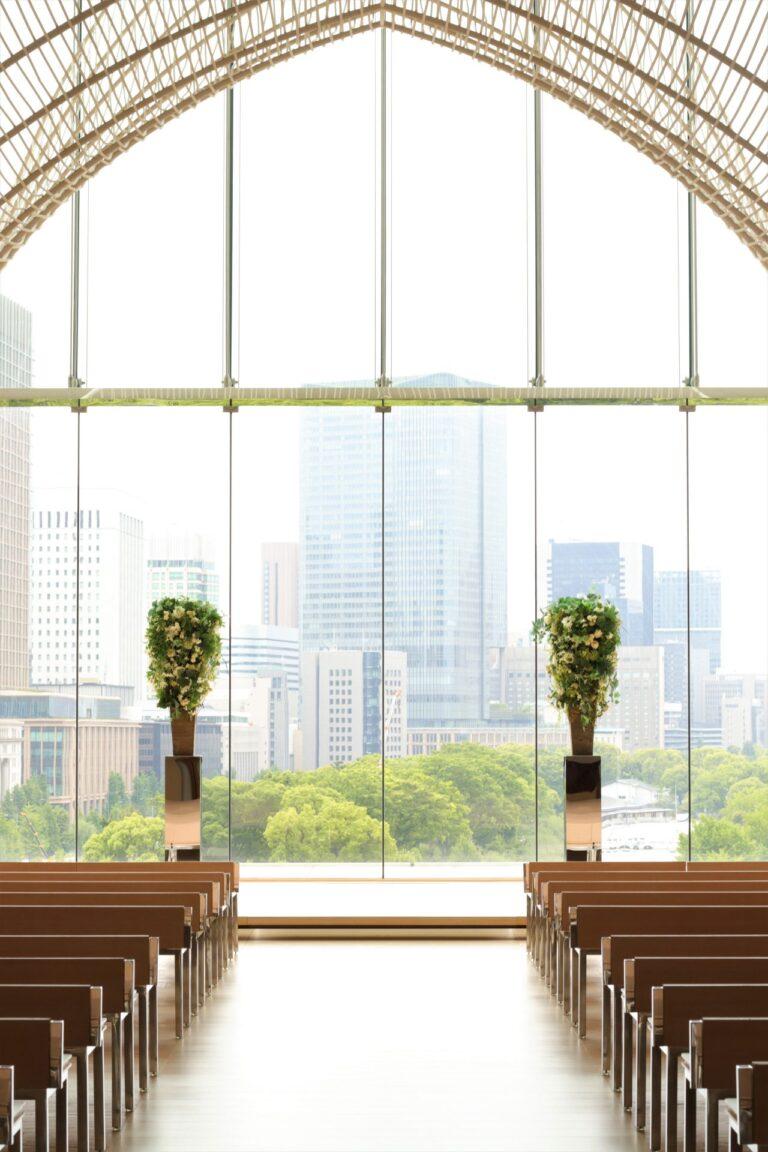 パレスホテル東京にて挙式・披露宴を控えているおふたりへ