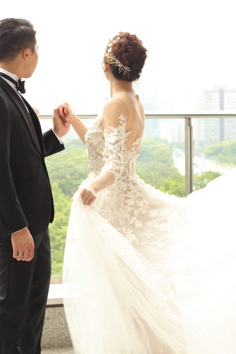 パレスホテル東京におすすめのウェディングドレス~チャペル・テラス~