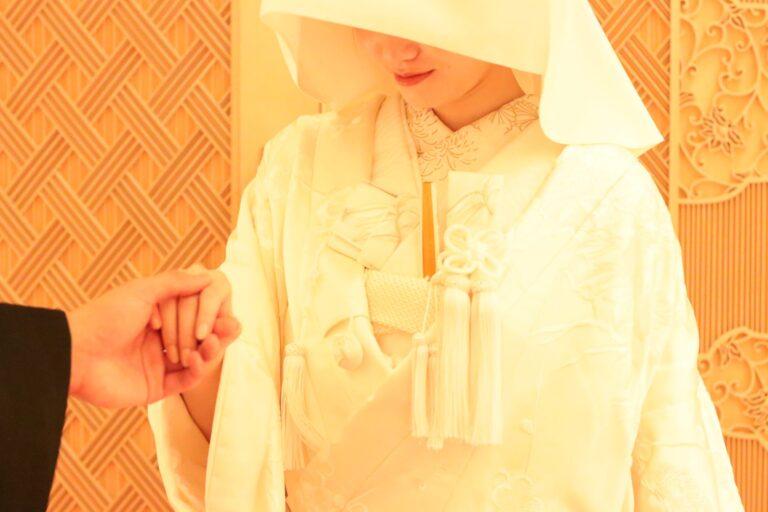 PALACE HOTEL TOKYO(パレスホテル東京)神殿式の魅力~白無垢~