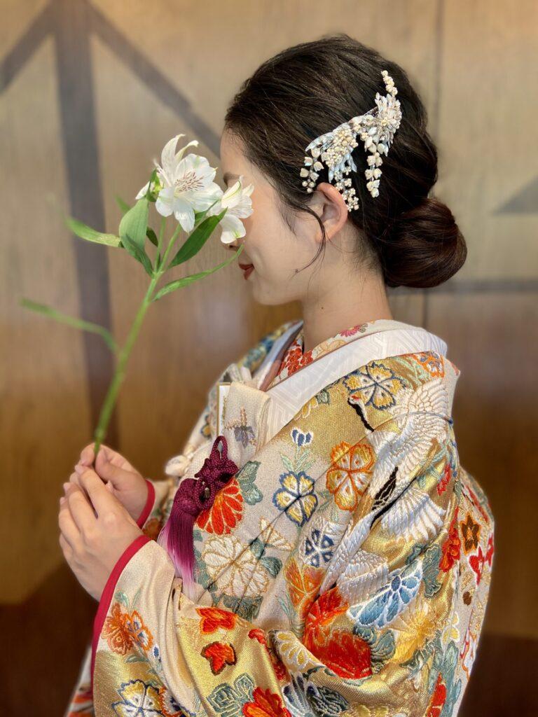 THE GARDEN ORIENTAL OSAKA(ザ・ガーデン・オリエンタル・オオサカ)におすすめのコーディネートのご紹介~ウェディングドレス・色打掛~