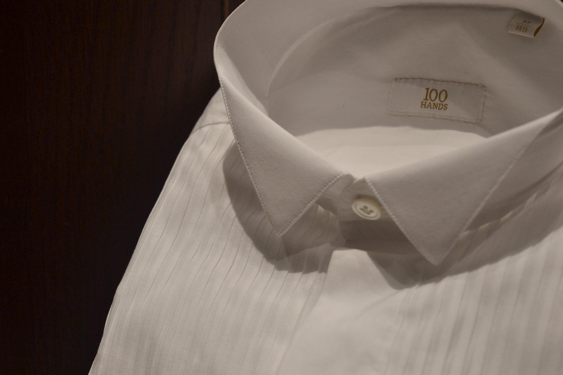 ザ・トリートドレッシング名古屋店にて人気のオランダブランドハンドレッドハンズのプリーツシャツ