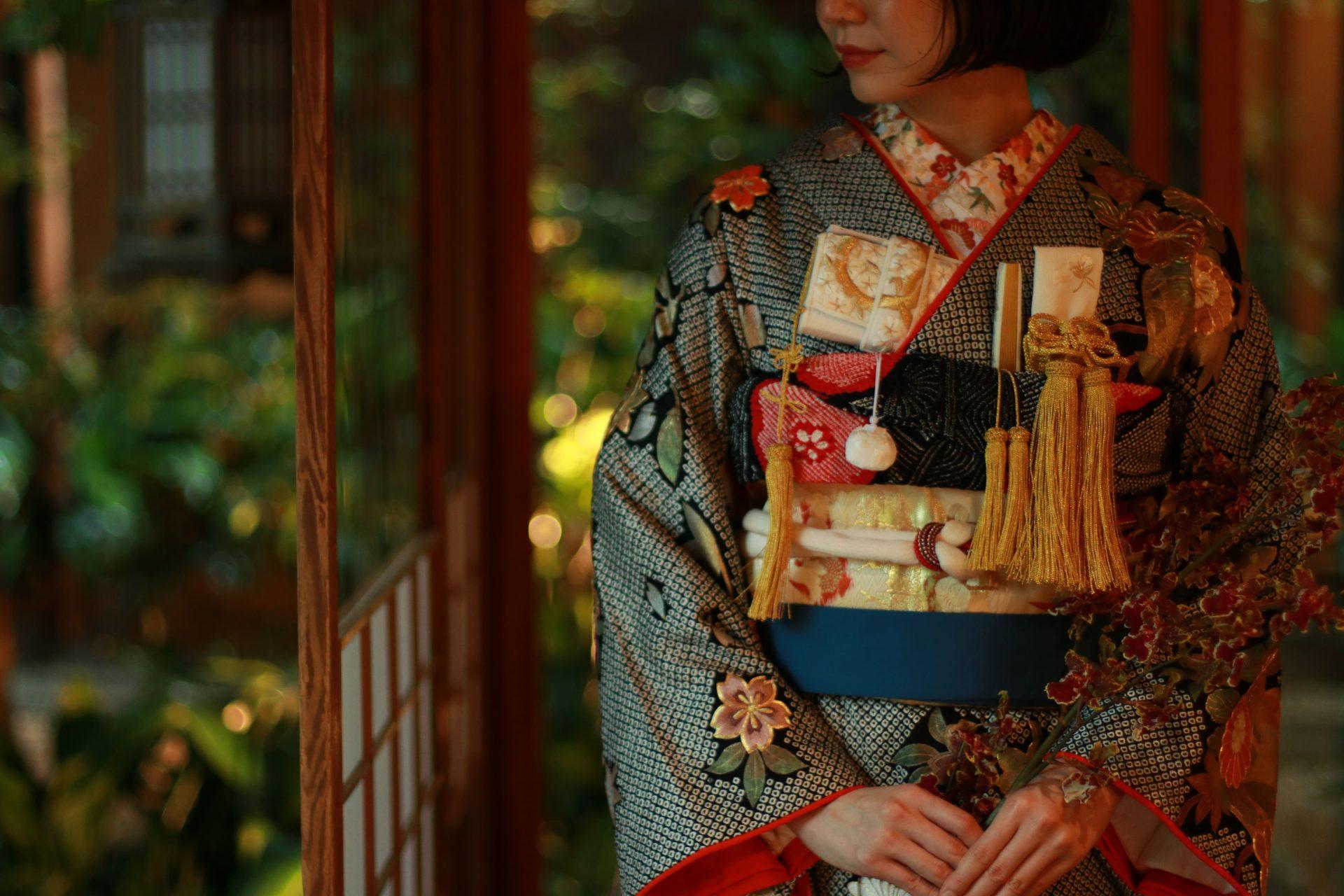 ザ・トリートドレッシング名古屋店提携の結婚式場河文にて前撮りを予定されている花嫁様へおすすめの和装コーディネート
