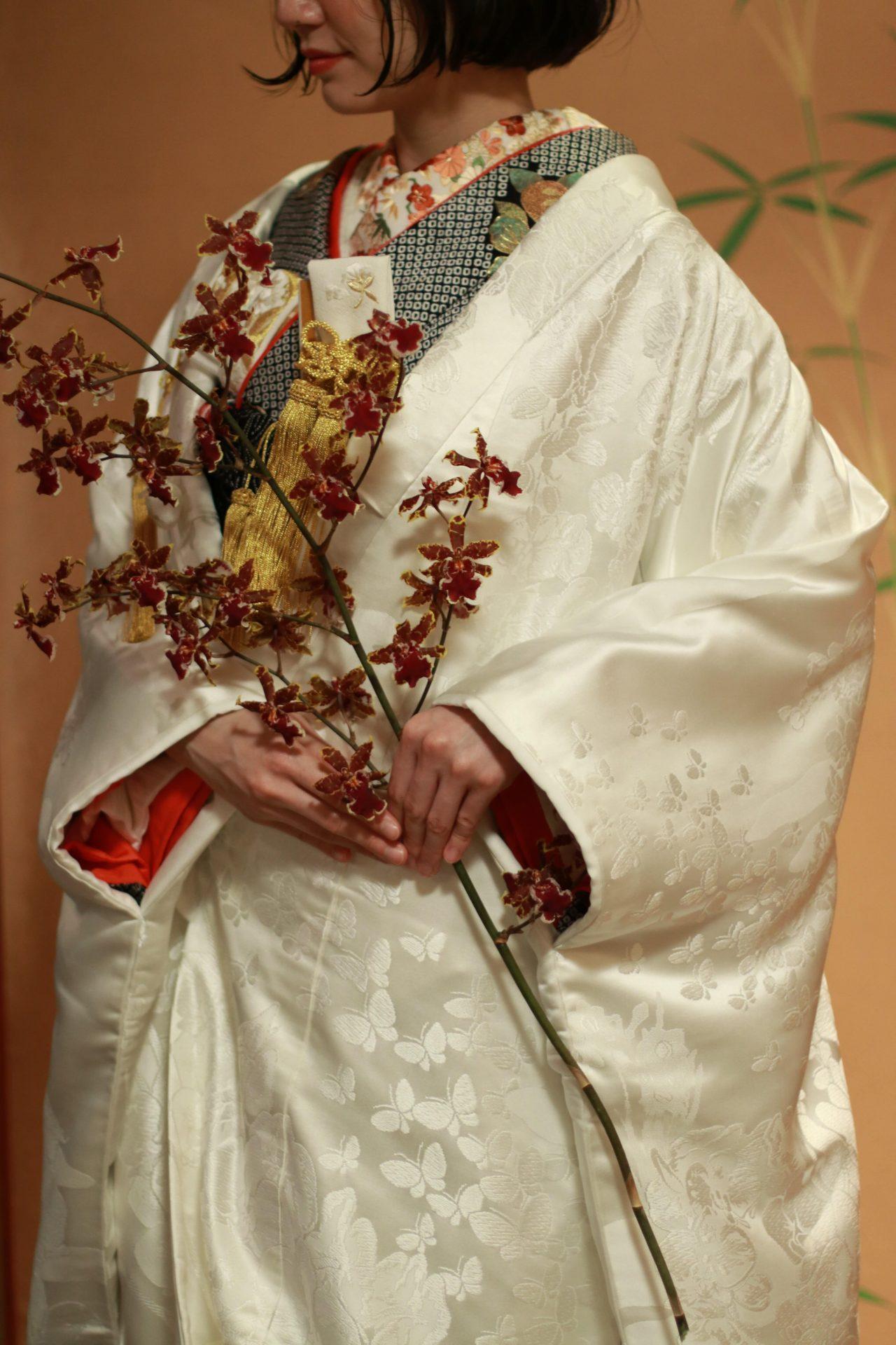 ザトリートドレッシング名古屋店提携の結婚式場河文にて前撮りを予定されている花嫁様へおすすめの和装コーディネート