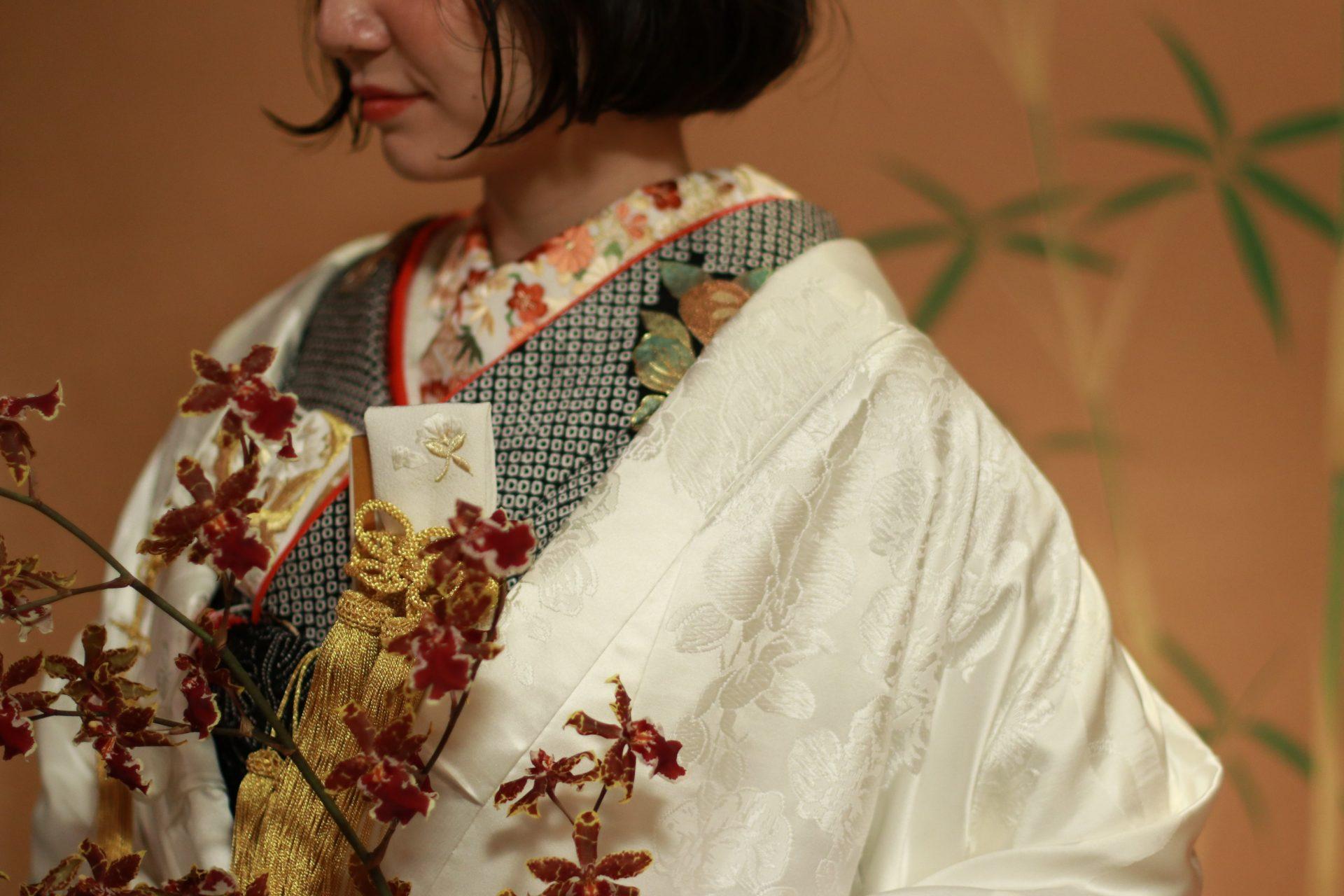 THE TREAT DRESSING名古屋店にてお召しいただける白無垢と本振袖