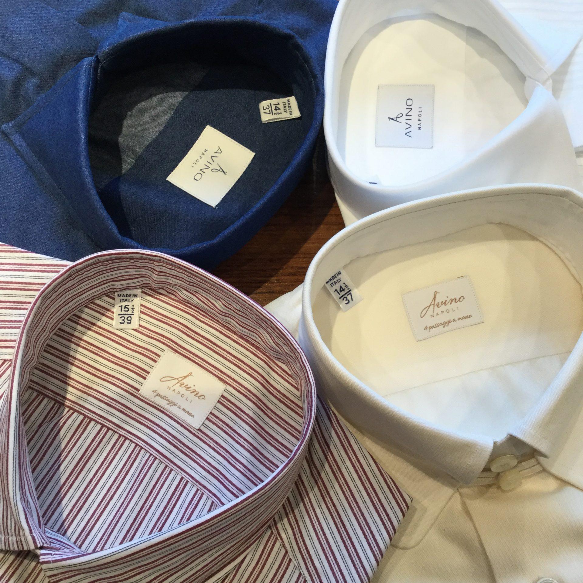 トリートジェントルマンにてお取り扱いをしているイタリアのシャツブランドアヴィーノラボラトリオナポレターノのご紹介