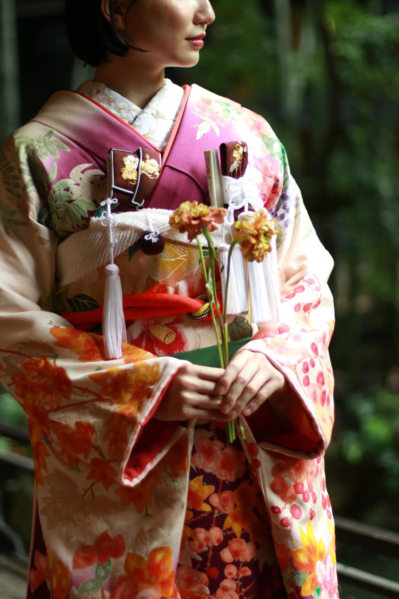 ザトリートドレッシングが和装でお式をされる花嫁様におすすめする本振袖のコーディネート