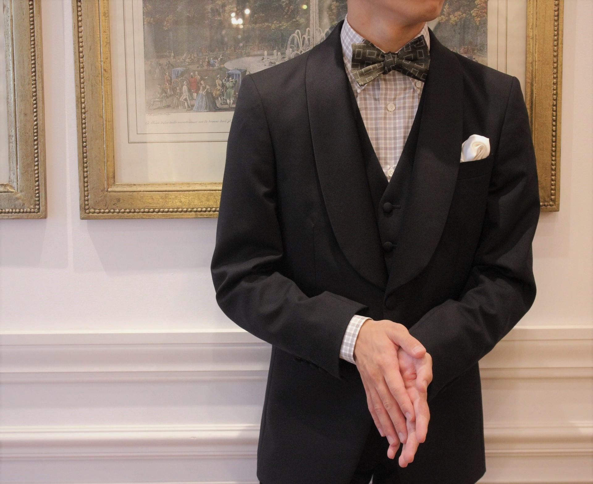 TREAT Gentlman(トリートジェントルマン)がナチュラルでアットホームなお式をご希望のご新郎様におすすめのカジュアルスタイル