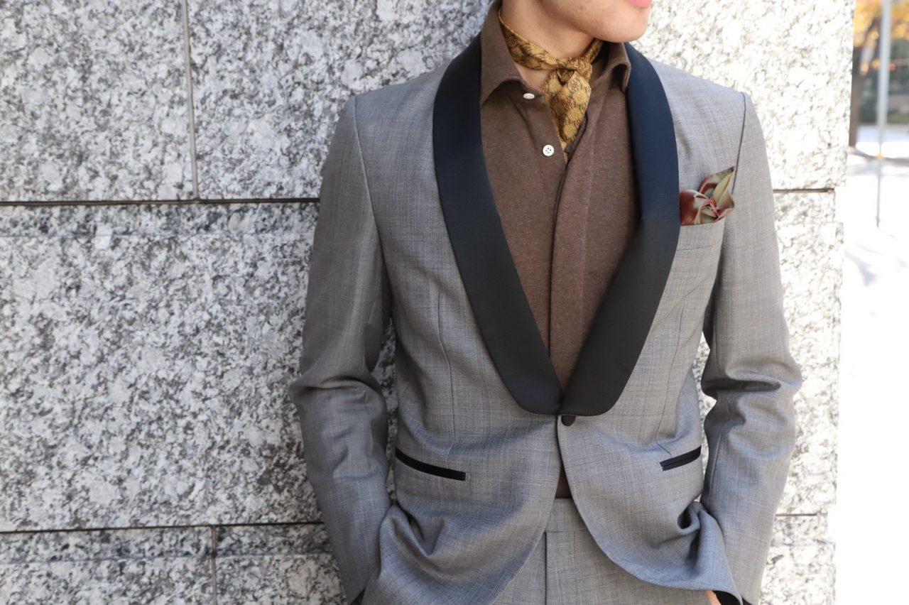 ザ・トリート・ドレッシングが提携するオリエンタルホテル神戸など格式の高い結婚式でのお色直しのスタイルは、ハンドレッド(100HANDS)の上質なドレスシャツを使ったスタイリングがおすすめです。