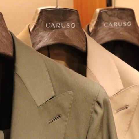 イタリアブランドカルーゾ(CARUSO)のご紹介ページです。